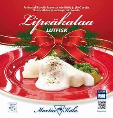 Martin Kalan tarjoiluehdotus jouluun perinteisesti kuuluvasta kalasta.